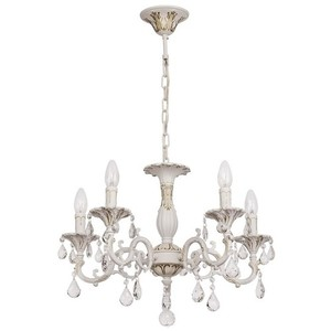 Lustrová svíčka Classic 5 bílá - 301014605 small 0