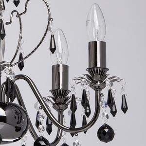 Závěsná lampa Barcelona Classic 5 Černá - 313010105 small 2