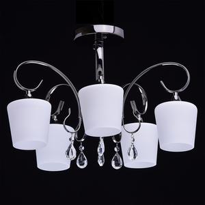 Závěsná lampa Porto Megapolis 5 Chrome - 315011205 small 1