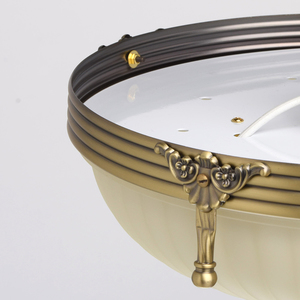 Závěsná lampa Aphrodite Classic 3 Mosaz - 317011303 small 7