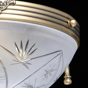 Závěsná lampa Aphrodite Classic 3 Mosaz - 317011603 small 5