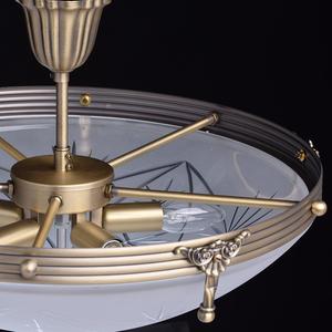Závěsná lampa Aphrodite Classic 5 Mosaz - 317012905 small 8
