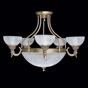 Závěsná lampa Aphrodite Classic 5 Mosaz - 317013308 small 1