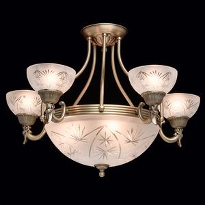 Závěsná lampa Aphrodite Classic 5 Mosaz - 317013308 small 2