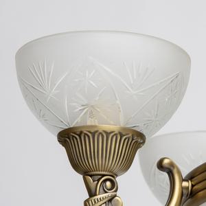 Závěsná lampa Aphrodite Classic 5 Mosaz - 317013308 small 3