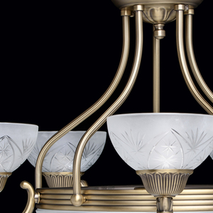Závěsná lampa Aphrodite Classic 5 Mosaz - 317013308 small 9