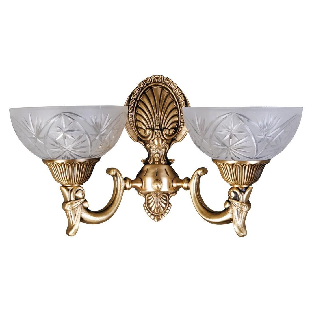 Nástěnná lampa Aphrodite Classic 2 Mosaz - 317021902