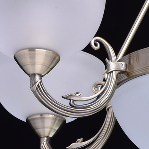 Lustr Olympus Classic 8 Mosaz - 318011408 small 6
