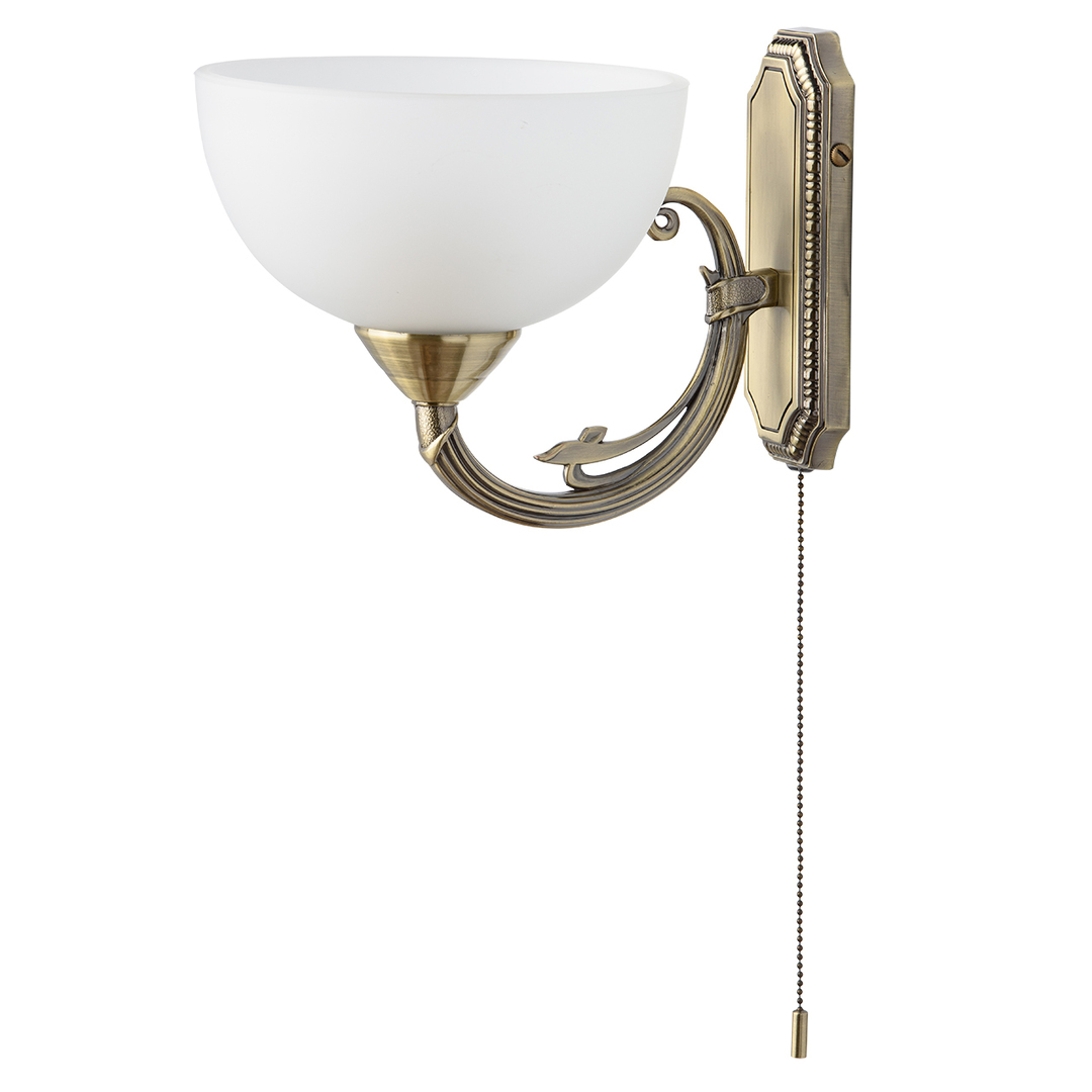 Nástěnná lampa Olympus Classic 1 Mosaz - 318020801