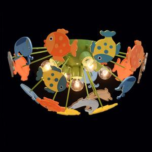 Závěsná lampa Smile Kinder 5 Green - 365014605 small 2