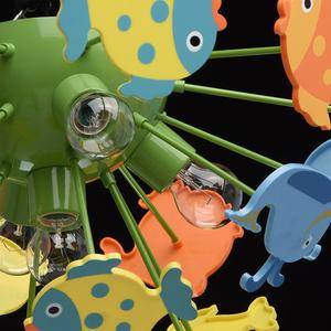 Závěsná lampa Smile Kinder 5 Green - 365014605 small 4