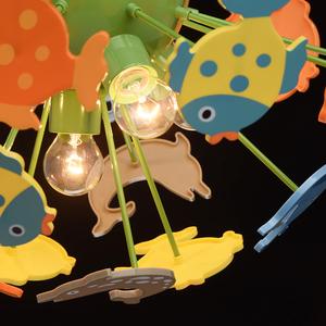 Závěsná lampa Smile Kinder 5 Green - 365014605 small 5