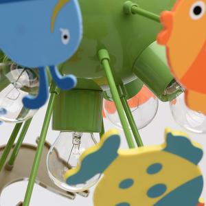 Závěsná lampa Smile Kinder 5 Green - 365014605 small 8