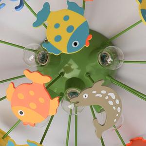 Závěsná lampa Smile Kinder 5 Green - 365014605 small 11