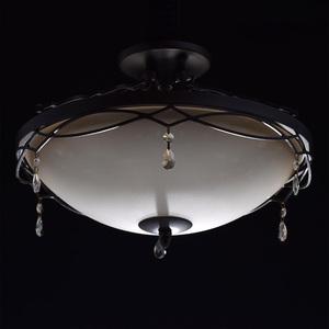 Závěsná lampa Magdalena Země 3 Hnědá - 382010703 small 2