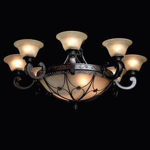 Závěsná lampa Magdalena Země 12 Hnědá - 382012812 small 2