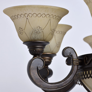 Závěsná lampa Magdalena Země 12 Hnědá - 382012812 small 3