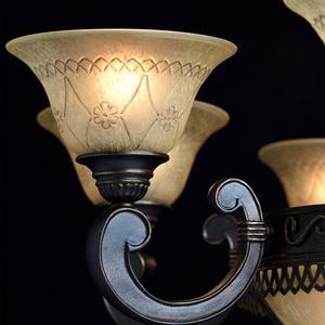 Závěsná lampa Magdalena Země 12 Hnědá - 382012812 small 4