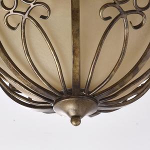 Závěsná lampa Magdalena Country 3 Mosaz - 382015903 small 8