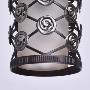 Závěsná lampa Magdalena Země 1 Hnědá - 382016401 small 3