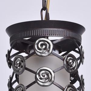 Závěsná lampa Magdalena Země 1 Hnědá - 382016401 small 4