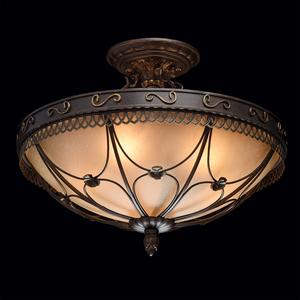 Závěsná lampa Magdalena Země 5 Hnědá - 382018205 small 1