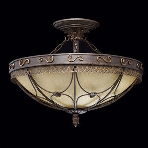 Závěsná lampa Magdalena Země 5 Hnědá - 382018205 small 2