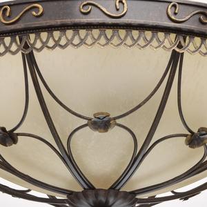 Závěsná lampa Magdalena Země 5 Hnědá - 382018205 small 3
