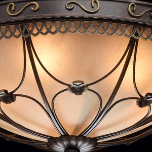 Závěsná lampa Magdalena Země 5 Hnědá - 382018205 small 4