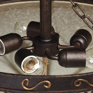 Závěsná lampa Magdalena Země 5 Hnědá - 382018205 small 7