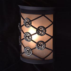 Nástěnná lampa Magdalena Země 1 Hnědá - 382026301 small 1
