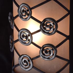 Nástěnná lampa Magdalena Země 1 Hnědá - 382026301 small 4