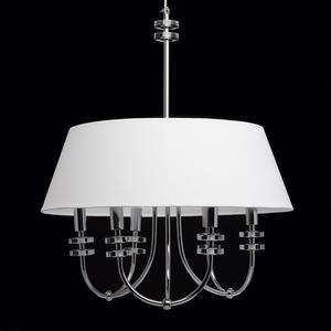 Závěsná lampa Palermo Elegance 6 Chrome - 386010206 small 3