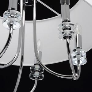 Závěsná lampa Palermo Elegance 6 Chrome - 386010206 small 8