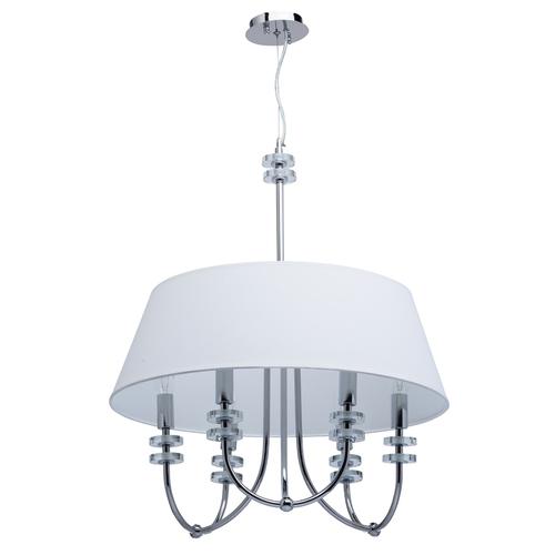 Závěsná lampa Palermo Elegance 6 Chrome - 386010206