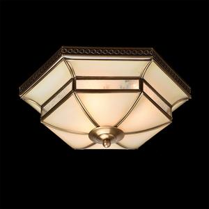 Závěsná lampa Marquis Country 3 Mosaz - 397010103 small 1