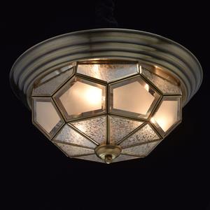 Závěsná lampa Marquis Country 3 Mosaz - 397010403 small 1