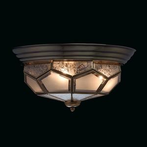Závěsná lampa Marquis Country 3 Mosaz - 397010403 small 2