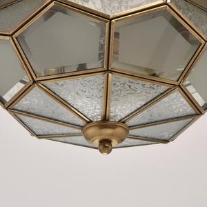 Závěsná lampa Marquis Country 3 Mosaz - 397010403 small 5