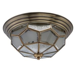 Závěsná lampa Marquis Country 3 Mosaz - 397010403 small 0