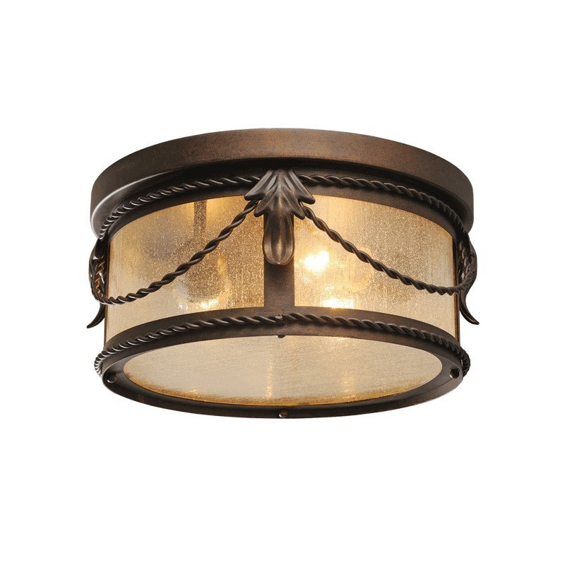 Závěsná lampa Marquis Country 3 Black - 397011503
