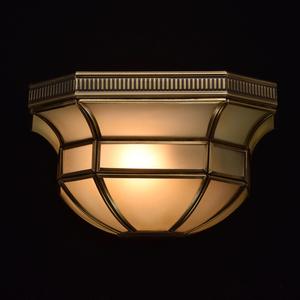 Nástěnná lampa Marquis Country 1 Mosaz - 397020301 small 1