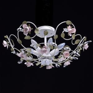 Závěsná lampa Provence Flora 6 bílá - 421013406 small 1