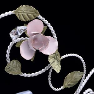 Závěsná lampa Provence Flora 6 bílá - 421013406 small 8