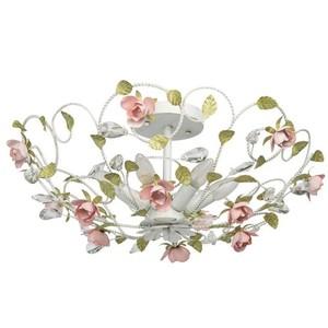 Závěsná lampa Provence Flora 6 bílá - 421013406 small 0