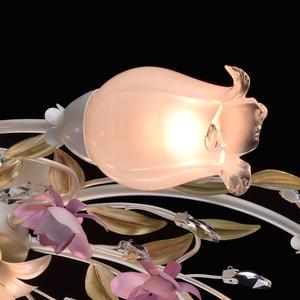 Závěsná lampa Provence Flora 7 bílá - 422010607 small 3