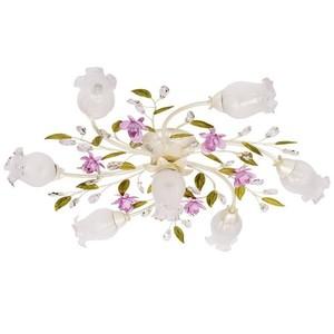 Závěsná lampa Provence Flora 7 bílá - 422010607 small 0