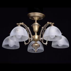 Závěsná lampa Ariadna Classic 5 Mosaz - 450010905 small 1