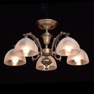 Závěsná lampa Ariadna Classic 5 Mosaz - 450010905 small 2