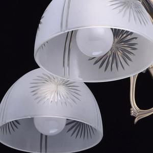 Závěsná lampa Ariadna Classic 5 Mosaz - 450010905 small 5
